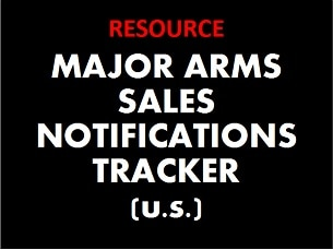 Major Arms Sales Notification Tracker