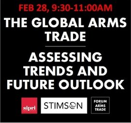 Event: Global Arms Trade - Assessing Trends and Future Outlook